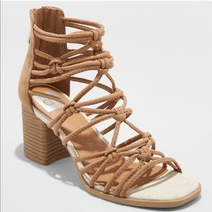 Shoes - 🎀 Knotted Heels🎀 Taupe